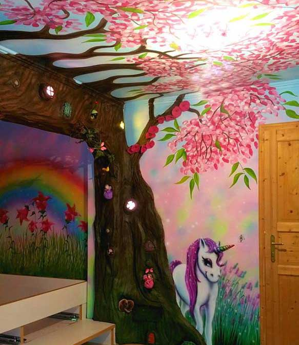 Wandmalerei für alle räume